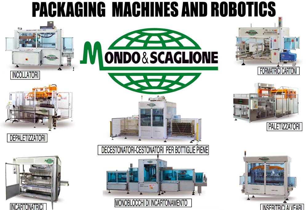 Packaging Machines Robotics Mondo & Scaglione