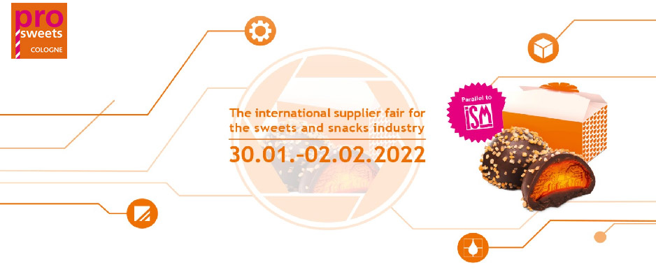 Prosweets Cologne e ISM 2022