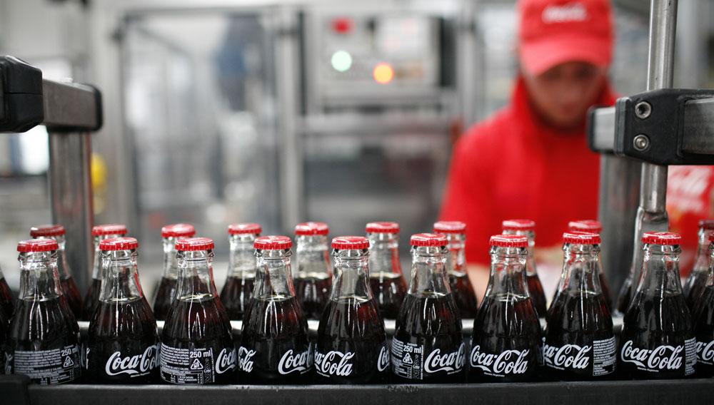 Sostenibilità impianti produzione Coca Cola